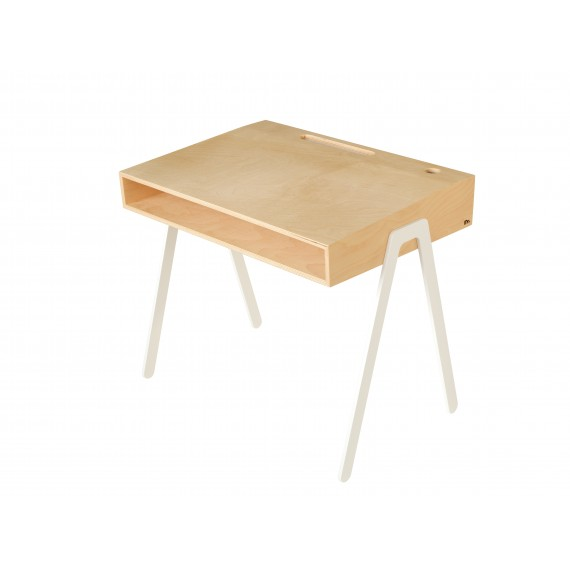 Bureau Enfant Large - IN2WOOD - Blanc