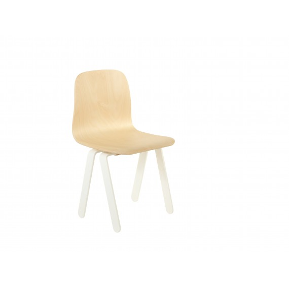 Chaise Enfant Small - IN2WOOD - Blanc