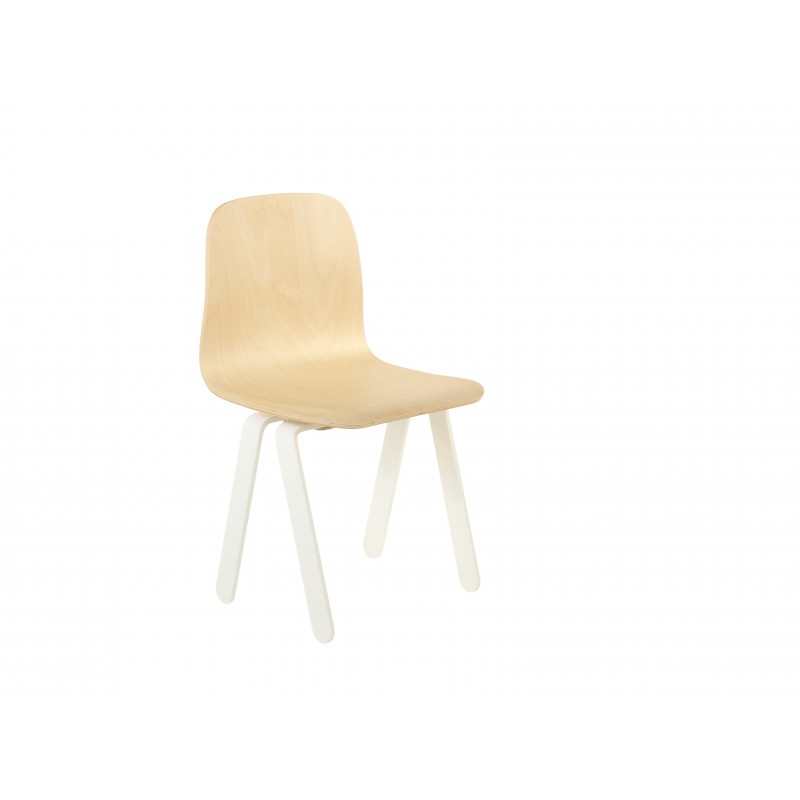 Chaise Enfant Small - IN2WOOD - Blanc - Livraison offerte