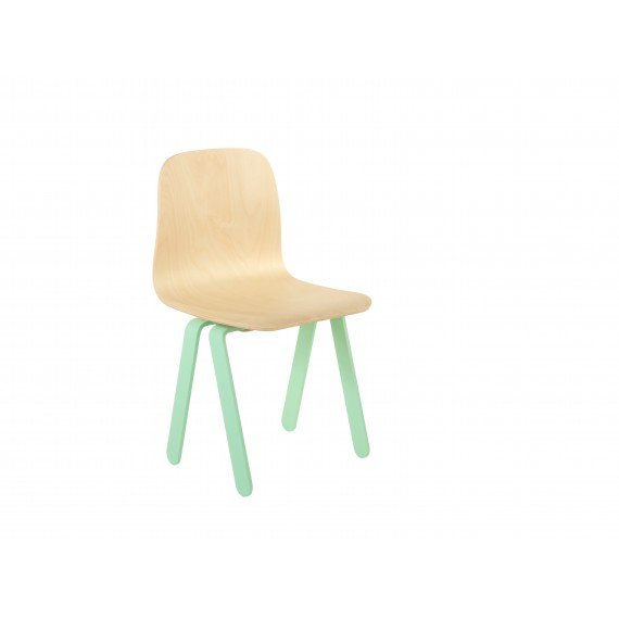 Chaise Enfant Small - IN2WOOD - Menthe