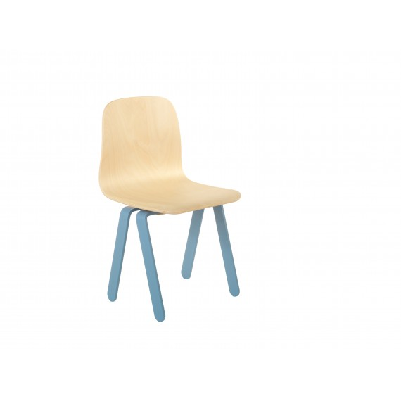 Chaise Enfant Small - IN2WOOD - Bleue