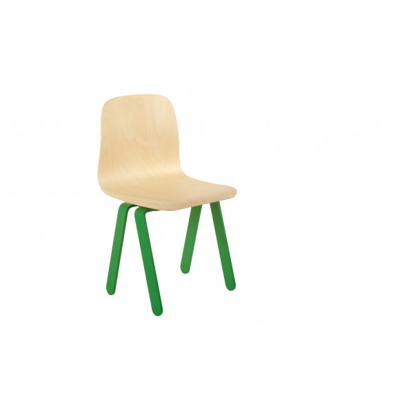 Chaise Enfant Small - IN2WOOD - Verte