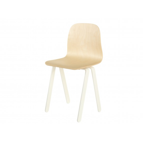 Chaise Enfant Large - IN2WOOD - Blanc