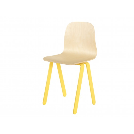 Chaise Enfant Large - IN2WOOD - Jaune