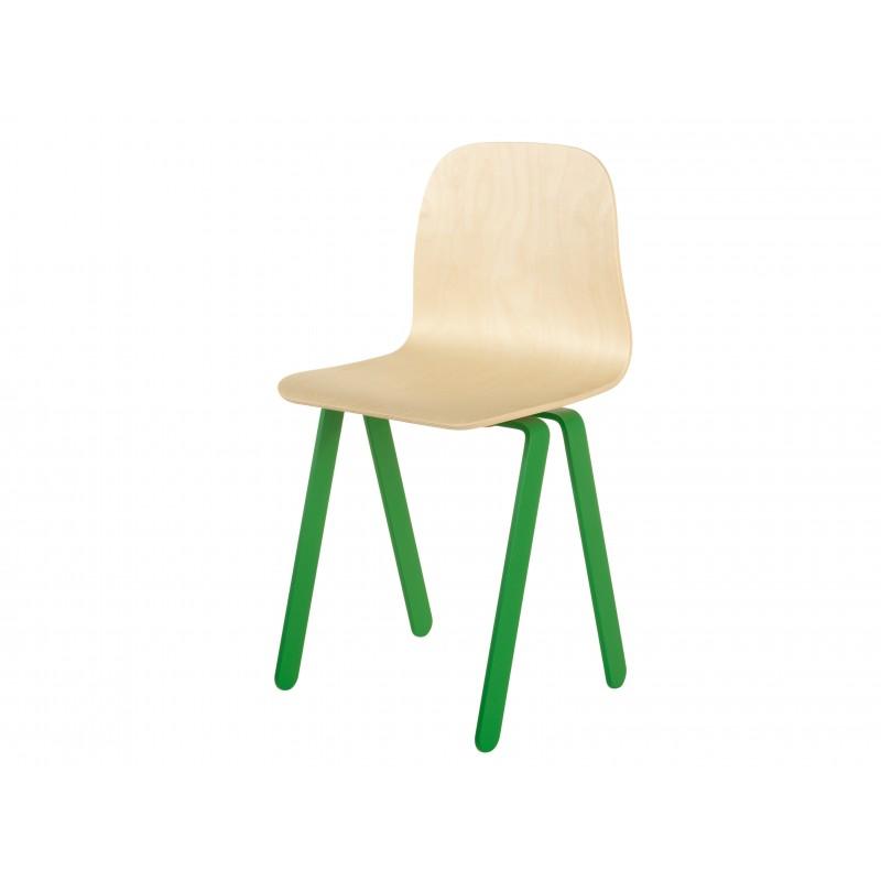 Chaise Enfant Large - IN2WOOD - Vert - Livraison offerte