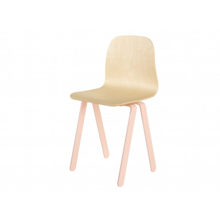 Chaise Enfant Large - IN2WOOD - Rose