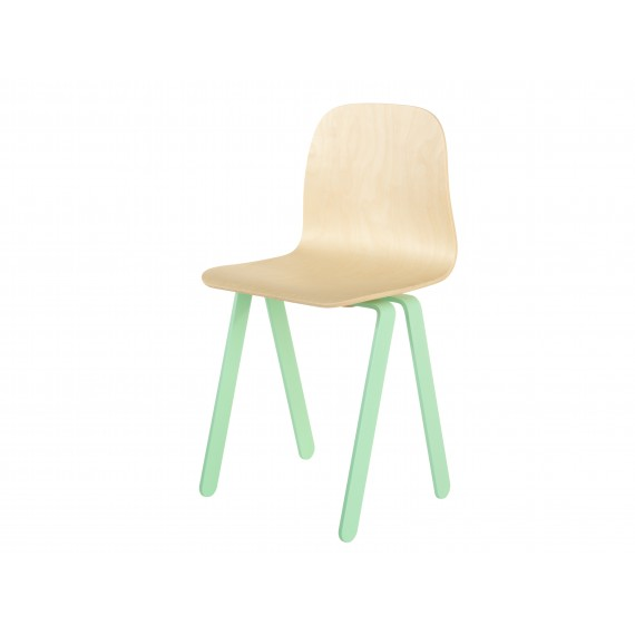 Chaise Enfant Large - IN2WOOD - Menthe