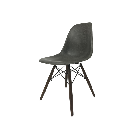 Chaise Eames DSW Herman Miller - Elephant Grey