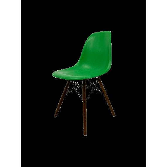 Chaise Eames DSW Herman Miller - Vert Cadmium