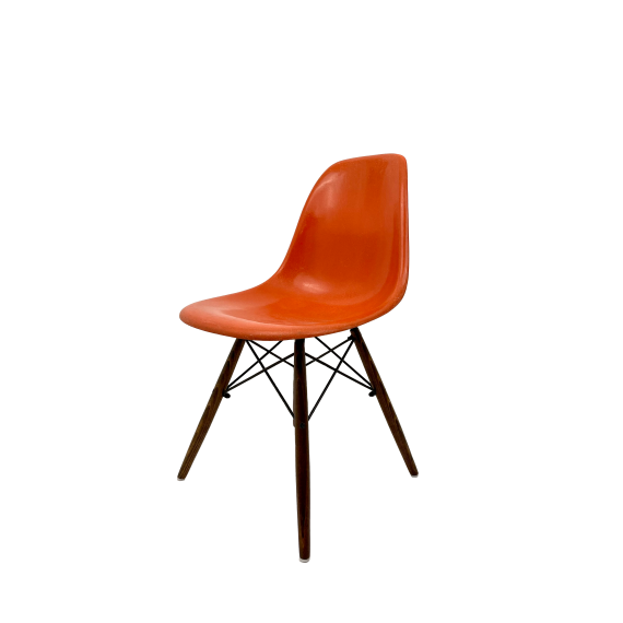 Chaise Eames DSW Herman Miller - Orange