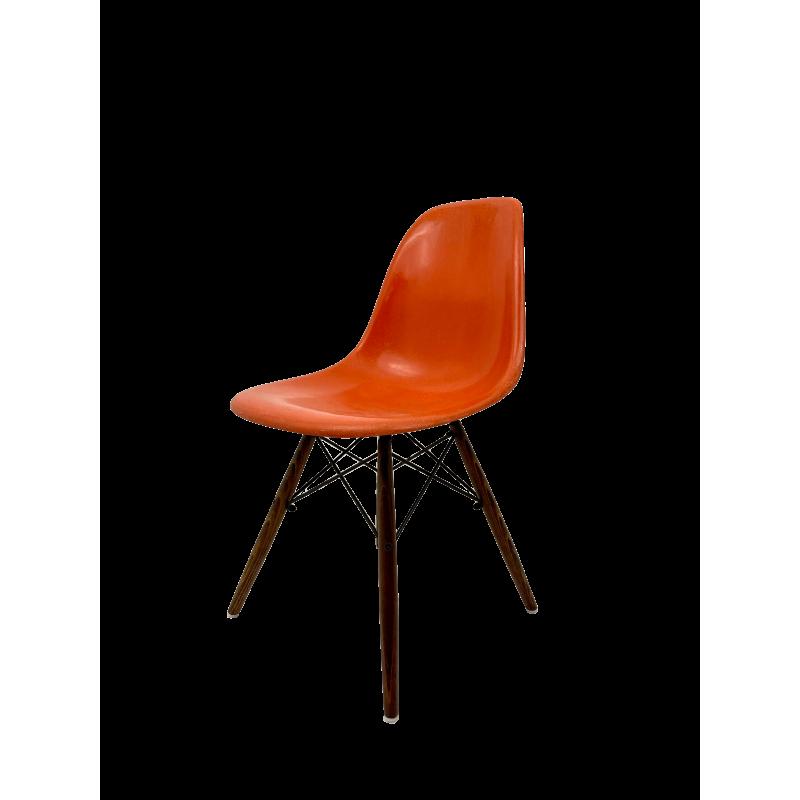 Chaise Eames DSW Herman Miller - Orange - Livraison offerte