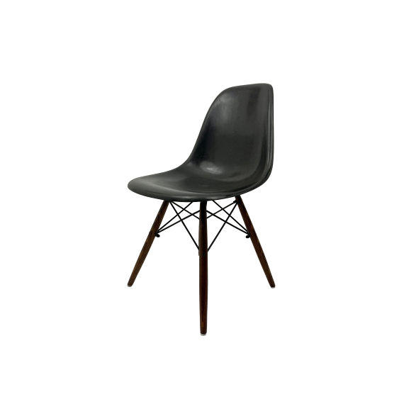 Chaise Eames DSW Herman Miller - Noire